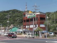 Straße In Yeosu, Provinz Jeollanam-do, Südkorea, Asien<br /> street  in Yeosu, province Jeollanam-do, South Korea, Asia