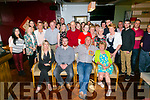 John Fitzmaurice, Ballyseedy, celebrates his 60th birthday with family and friends at Gally's Bar on Friday