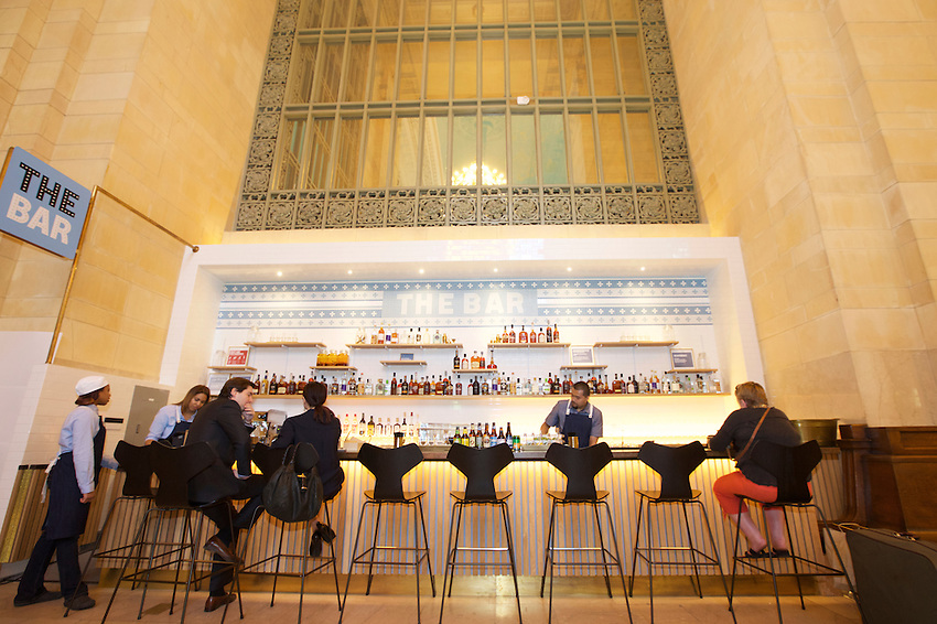 New York, NY - June 24, 2016: The opening of Great Northern Food Hall in Grand Central Terminal's Vanderbilt Hall.<br /> <br /> <br /> CREDIT: Clay Williams for Gothamist.<br /> <br /> &copy; Clay Williams / claywilliamsphoto.com