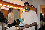 "In his dressing room - Norm Lewis (As The World Turns & All My Children & Drama Desk nominee) stars as ""Porgy"" in The Gershwins' Porgy and Bess - The Broadway Musical on January 7, 2012 at The Richard Rogers Theatre, New York City, New York. (Photo by Sue Coflin/Max Photos)"