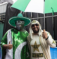 Fans in good spirits, despite the weather during Pakistan vs Sri Lanka, ICC World Cup Cricket at the Bristol County Ground on 7th June 2019