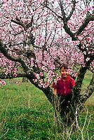Young boy in Peach Tree, Georgia USA