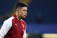 Alexis Sanchez of Arsenal pre-match during Chelsea vs Arsenal, Caraboa Cup Football at Stamford Bridge on 10th January 2018