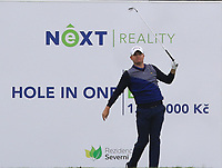 James Morrison (ENG) on the 7th tee during Round 3 of the D+D Real Czech Masters at the Albatross Golf Resort, Prague, Czech Rep. 02/09/2017<br /> Picture: Golffile | Thos Caffrey<br /> <br /> <br /> All photo usage must carry mandatory copyright credit     (&copy; Golffile | Thos Caffrey)