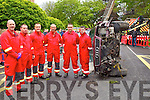 Members of Tralee Fireservice pictured at the Emergency services display during Heros week at Denny Street on Saturday were fr<br /> From Left: Gareth Elbell, Mike Collins, Martin O'Grady, Maurice Griffin, Nathan Tadier, Neill Horgan.