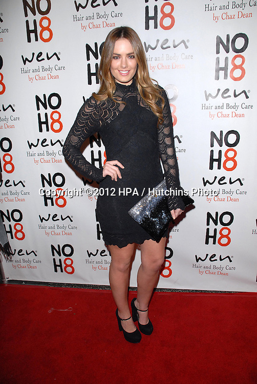 LOS ANGELES - DEC 12:  Beau Dunn arrives to the NOH8 4th Anniversary Party at Avalon on December 12, 2012 in Los Angeles, CA