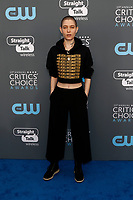 Kate Dillon attends the 23rd Annual Critics' Choice Awards at Barker Hangar in Santa Monica, Los Angeles, USA, on 11 January 2018. Photo: Hubert Boesl - NO WIRE SERVICE - Photo: Hubert Boesl/dpa /MediaPunch ***FOR USA ONLY***