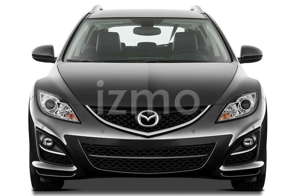 Straight front view of a 2011 Mazda 6 Active Wagon