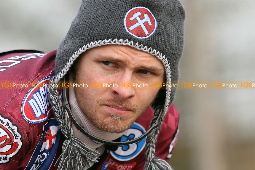 Jonas Davidsson of Lakeside Hammers - Lakeside Hammers Press Day at the Arena Essex Raceway, Purfleet - 17/03/10 - MANDATORY CREDIT: Rob Newell/TGSPHOTO - Self billing applies where appropriate - 0845 094 6026 - contact@tgsphoto.co.uk - NO UNPAID USE.