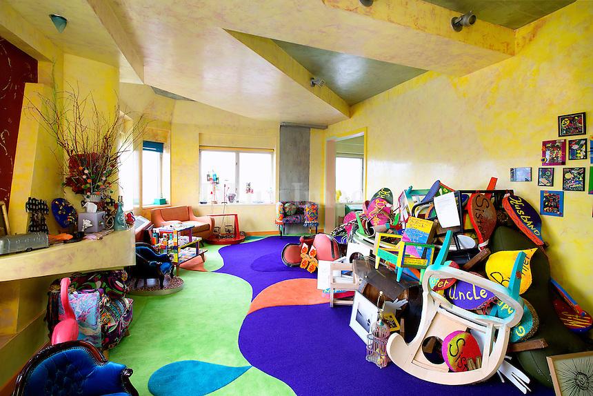 modern colored carpet