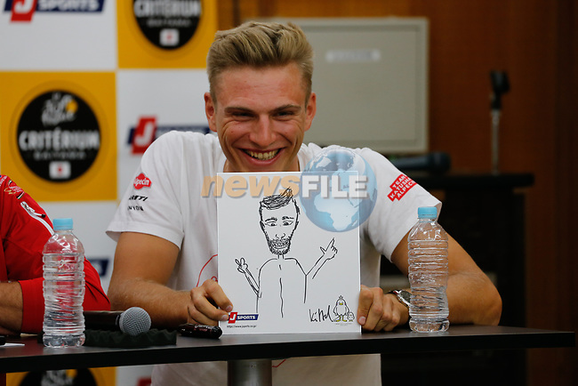 Marcel Kittel (GER) at the media day before the 2018 Saitama Criterium, Japan. 3rd November 2018.<br /> Picture: ASO/Yuzuru Sunada | Cyclefile<br /> <br /> <br /> All photos usage must carry mandatory copyright credit (© Cyclefile | ASO/Yuzuru Sunada)