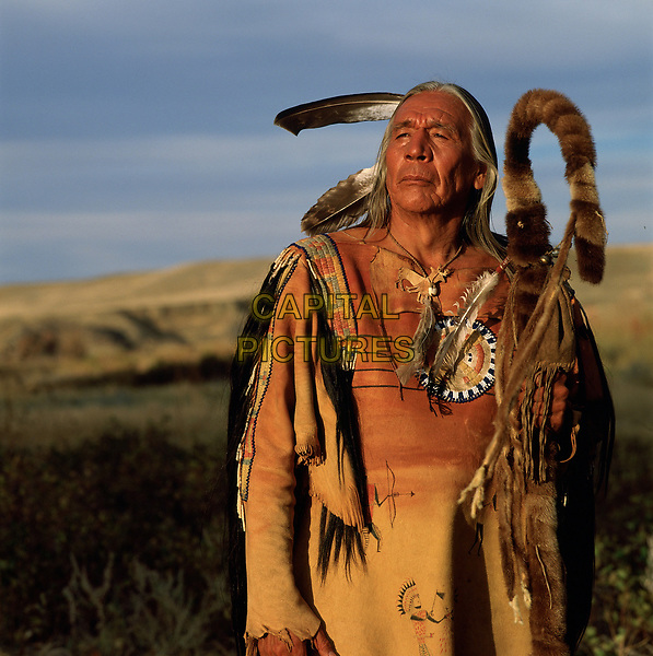 Dances with Wolves (1990) <br /> Floyd 'Red Crow' Westerman<br /> *Filmstill - Editorial Use Only*<br /> CAP/KFS<br /> Image supplied by Capital Pictures