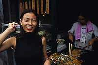 Portrait of streets food vendor