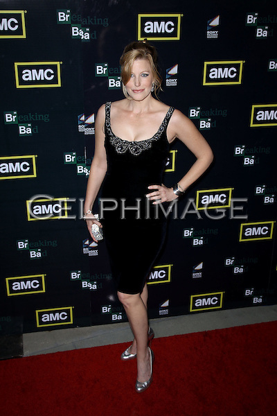 "Anna Gunn. Arrivals to the Season Three Premiere of AMC Series ""Breaking Bad"" at the Arclight Hollywood Cinema. Los Angeles, CA, USA. March 9, 2010.."
