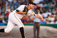 May 18, 2009:  Daniel Davidson of the Salt Lake Bees, Pacific Cost League Triple A affiliate of the Los Angeles (Anaheim) Angles, during a game at the Spring Mobile Ballpark in Salt Lake City, UT.  Photo by:  Matthew Sauk/Four Seam Images