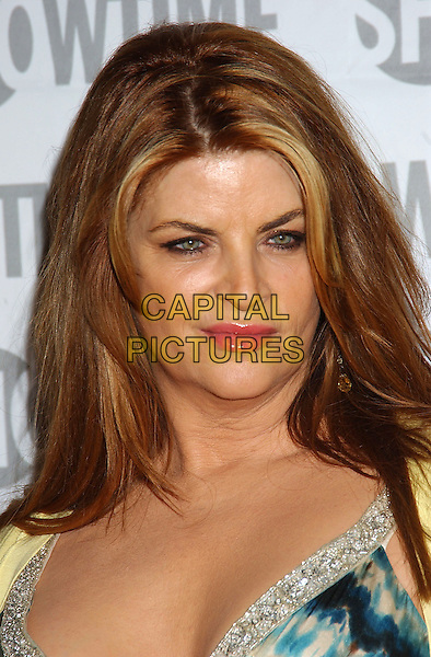 KIRSTIE ALLEY.Fat Actress Los Angeles Premiere held at the Cinerama Dome at Arclight Cinemas. Hollywood, California.Photo Credit: Laura Farr/AdMedia.February 23rd, 2005.headshot portrait.www.capitalpictures.com.sales@capitalpictures.com.© Capital Pictures.