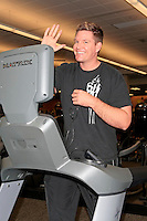 Guest working out at the Grand Opening Celebrity VIP Reception of the FIRST SIGNATURE LA FITNESS CLUB, Woodland Hills, Los Angeles, California, 02.06.2012...Credit: Martin Smith/face to face /MediaPunch Inc. ***FOR USA ONLY***