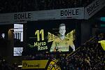 10.02.2018, Signal Iduna Park, Dortmund, GER, 1.FBL, Borussia Dortmund vs Hamburger SV, <br /> <br /> im Bild | picture shows:<br /> Nach langer Verletzung wird Marco Reus (Borussia Dortmund #11) auf der Anzeigetafel aufgerufen, <br /> <br /> <br /> Foto &copy; nordphoto / Rauch