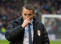 Fulham's manager Slavisa Jokanovic before  the Sky Bet Championship match between Fulham and Queens Park Rangers at Craven Cottage, London, England on 17 March 2018. Photo by Andrew Aleksiejczuk / PRiME Media Images.