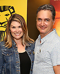 "Heidi Blickenstaff and Nicholas Rohlfing attends the Broadway screening of the Motion Picture Release of ""The Lion King"" at AMC Empire 25 on July 15, 2019 in New York City."