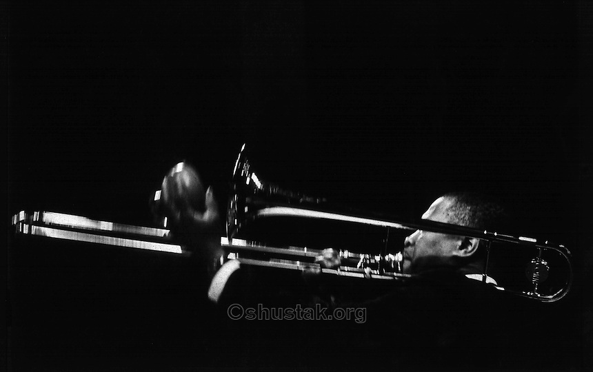 J. J. Johnson trombonist, NYC, 1960's