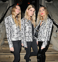 Hey Charlie (Sophie Scott, Lauren O'Donnell Anderson and Lizz Steichen) at the GQ Car Awards 2019, Corinthia Hotel, Whitehall Place, London, England, UK, on Monday 04th February 2019.<br /> CAP/CAN<br /> ©CAN/Capital Pictures