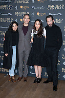 """Leem Lubany, Waleed Zuaiter, July Namir and Bertie Carvel<br /> arriving for the """"Baghdad Central"""" screening at the BFI South Bank, London.<br /> <br /> ©Ash Knotek  D3548 16/01/2020"""