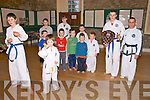 Kilflynn TaeKwon-Do Presentation: Pictured at the presentation of student of the Year presentation at St Columbas Centre in Kilflynn on Saturday were, William O'Connor & Jack Hannon in front. Back : Eoin Griffin, Eoin O'Connor, Padraigh Harrington, Bobby O'Connor& Peter Hincliffe, Student of the Year Sean harrington & Instuctor Mike Murphy. Back : Cora Long, Lunasa Parkinson & Jamie Stack.