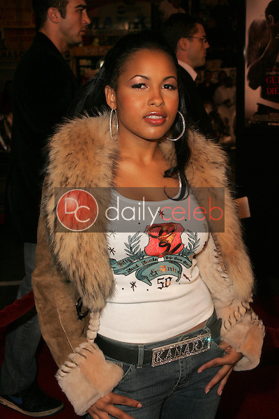 Kanary Diamonds<br />at the world premiere of &quot;Get Rich Or Die Tryin&quot;. Graumans Chinese Theatre, Hollywood, CA. 11-02-05<br />Dave Edwards/DailyCeleb.com 818-249-4998