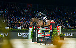 Marc Houtzager of The Netherlands riding Sterrehof's Edinus Longines Masters of Hong Kong at AsiaWorld-Expo on 11 February 2018, in Hong Kong, Hong Kong. Photo by Christopher Palma / Power Sport Images