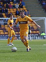 Steve Jennings in the Motherwell v St Johnstone Clydesdale Bank Scottish Premier League match played at Fir Park, Motherwell on 28.4.12.