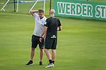 05.01.2019, Trainingsgelaende Randburg Football Club, Johannesburg, RSA, TL Werder Bremen Johannesburg Tag 03<br /> <br /> im Bild / picture shows <br /> <br /> Frank Baumann (Gesch&auml;ftsf&uuml;hrer Fu&szlig;ball Werder Bremen) <br /> Christian Vander (Torwart-Trainer SV Werder Bremen)<br /> <br /> Foto &copy; nordphoto / Kokenge