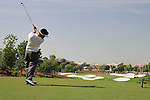 Louis Oosthuizen tees off on the par3 4th hole during  Day 3 at the Dubai World Championship Golf in Jumeirah, Earth Course, Golf Estates, Dubai  UAE, 21st November 2009 (Photo by Eoin Clarke/GOLFFILE)