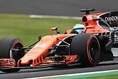 6th October 2017, Suzuka Circuit, Suzuka, Japan; Japanese Formula One Grand Prix, Friday Free Practice; Fernando Alonso - McLaren Honda