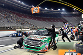 #51: Christopher Bell, Kyle Busch Motorsports, Toyota Tundra Hunt Brothers Pizza, makes a pit stop.