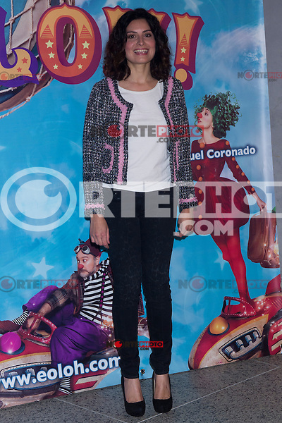 03.10.2012. Celebrities attending the premiere of the show ´Eoloh´, at the  Teatros del Canal, Madrid,  Spain. In the image Ledicia Sola (Alterphotos/Marta Gonzalez)
