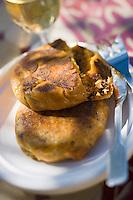 Afrique/Afrique du Nord/Maroc/Rabat: Hotel - Maison d'Hote Villa Mandarine - pastilla aux fruits de mer