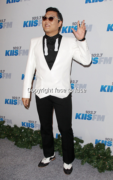 PSY at day 2 of KIIS FM's 2012 Jingle Ball at Nokia Theatre, Los Angeles, 03.03.2012...Credit: MediaPunch/face to face..- Germany, Austria, Switzerland, Eastern Europe, Australia, UK, USA, Taiwan, Singapore, China, Malaysia and Thailand rights only -
