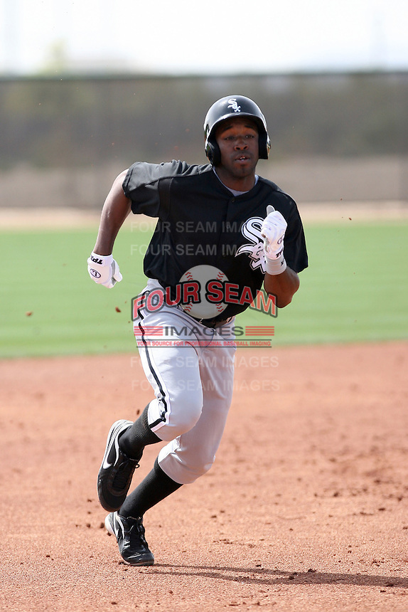John Shelby, Chicago White Sox minor league spring training..Photo by:  Bill Mitchell/Four Seam Images.
