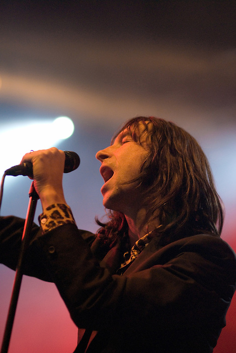 Primal Scream performing live at All Tomorrow's Parties at Butlins in Minehead. 4th to 6th December 2009.