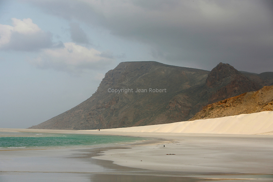 .Qalansiyah lagoon . North east coast. Socotra; Yemen
