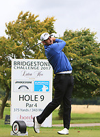 Jack Doherty (SCO) on the 9th tee during Round 4 of the Bridgestone Challenge 2017 at the Luton Hoo Hotel Golf &amp; Spa, Luton, Bedfordshire, England. 10/09/2017<br /> Picture: Golffile | Thos Caffrey<br /> <br /> <br /> All photo usage must carry mandatory copyright credit     (&copy; Golffile | Thos Caffrey)