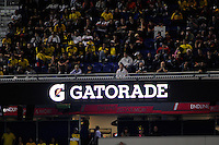Gatorade. The men's national team of the United States (USA) was defeated by Ecuador (ECU) 1-0 during an international friendly at Red Bull Arena in Harrison, NJ, on October 11, 2011.