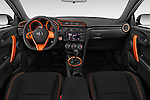 Stock photo of straight dashboard view of a 2015 Scion tC Release Series 9.0 2 Door Coupe Dashboard