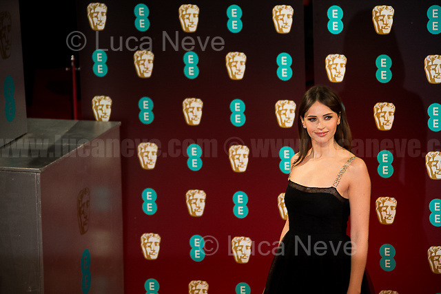 Felicity Jones.<br />