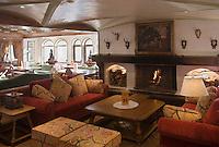 Europe/France/Rhone-Alpes/73/Savoie/Courchevel:  L' Hotel Les Airelles - un salon