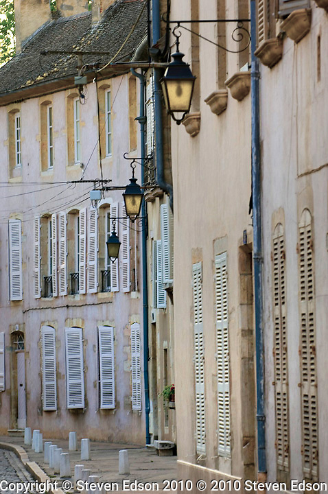 Old buildings in Beaune, France
