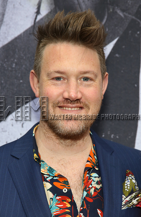 """Eddie Perfect attends the Broadway Opening Night Performance for """"Beetlejuice"""" at The Wintergarden on April 25, 2019  in New York City."""