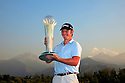 Scott Henry (SCO) poses with the trophy after the final round of the Kazakhstan Open played at Zhailjau Golf Resort, Almaty on September 16, 2012 in Almaty, Kazakhstan.(Picture Credit / Phil Inglis)