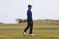 Thomas Detry (BEL) on the 15th during round 4 of the Alfred Dunhill Links Championship at Old Course St. Andrew's, Fife, Scotland. 07/10/2018.<br /> Picture Thos Caffrey / Golffile.ie<br /> <br /> All photo usage must carry mandatory copyright credit (&copy; Golffile | Thos Caffrey)